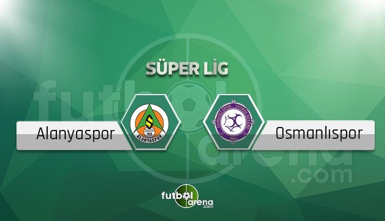 Alanyaspor - Osmanlıspor sakat, cezalı futbolcular
