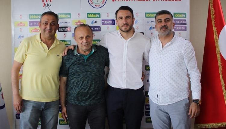 Ali Çamdalı Rizespor'a transferinin ardından FutbolArena'ya konuştu