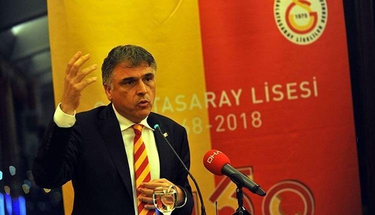 GS Haber: Ali Fatinoğlu Mustafa Cengiz'i tebrik edip salondan ayrıldı