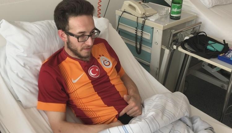 Alman polisinin saldırısına uğrayan Galatasaray taraftarı konuştu