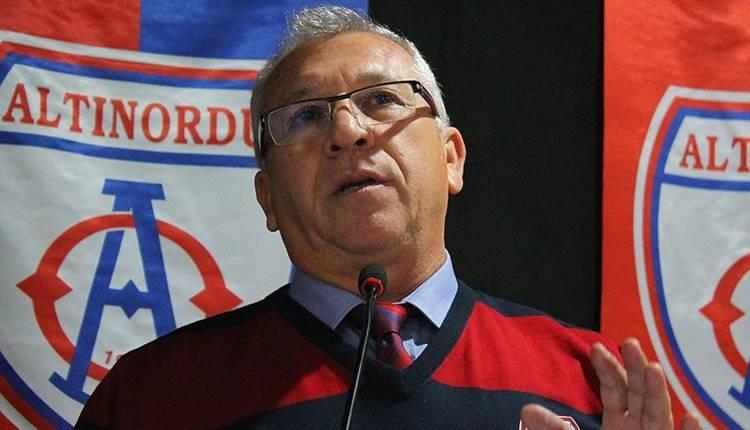 Altınordu Başkanı Seyit Mehmet Özkan: Süper Lig'e çıkmayacağız