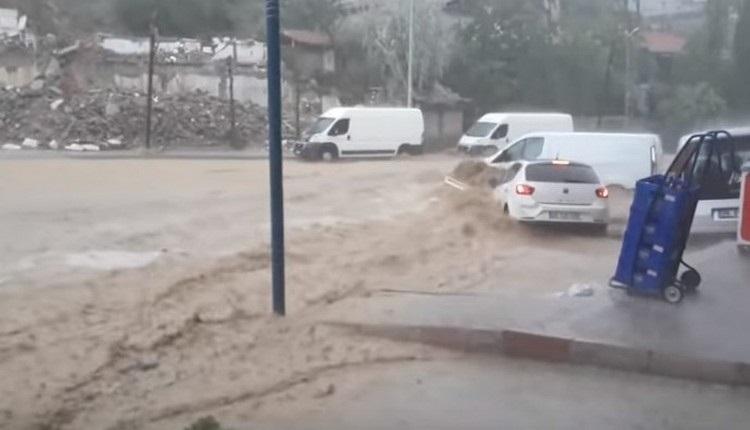 Ankara sel haberlerinde son dakika - Ankara son dakika sel (Ankara Mamak hava durumu 6 Mayıs 2018)