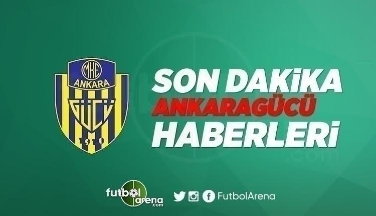 Ankaragücü Haber - Mehmet Yiğiner, kupayı Mustafa Tuna'ya götürdü (15 Mayıs 2018 Son dakika Ankaragücü haberleri)