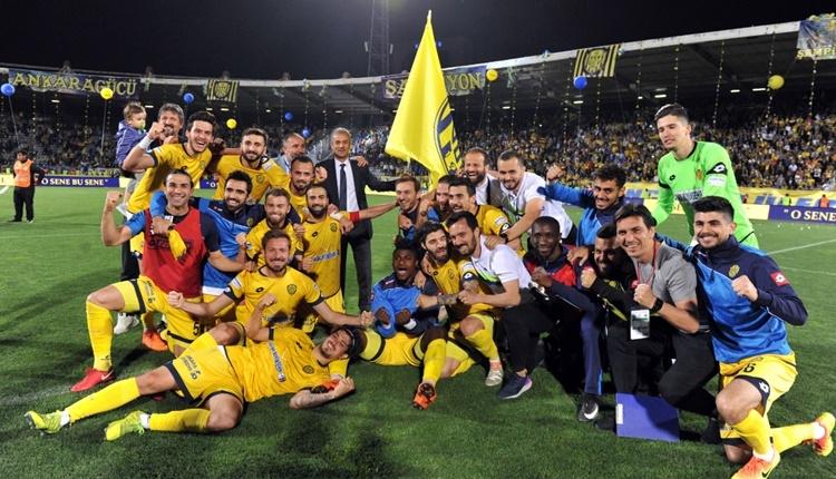 Ankaragücü'nde büyük şampiyonluk coşkusu
