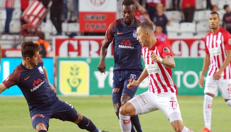 Antalyaspor 0-2 Başakşehir maç özeti ve golleri (İZLE)