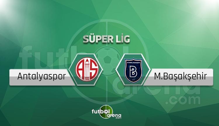 Antalyaspor Başakşehir BeIN Sports canlı şifresiz izle