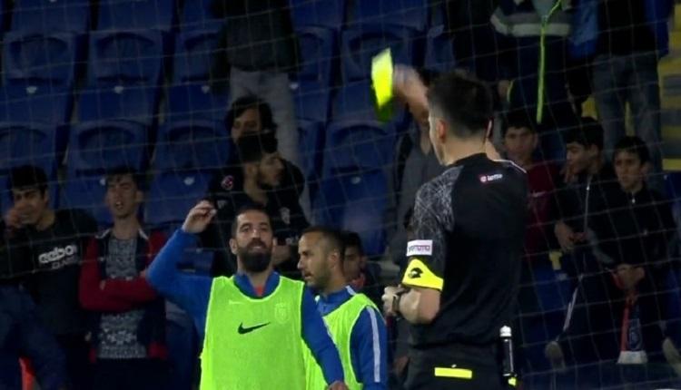 Arda Turan Başakşehir - Sivasspor maçında hakeme küfür mü etti? Olay görüntü...