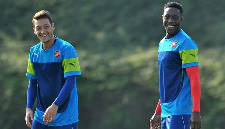 Arsenal'li Welbeck'ten Zonguldak'a selam