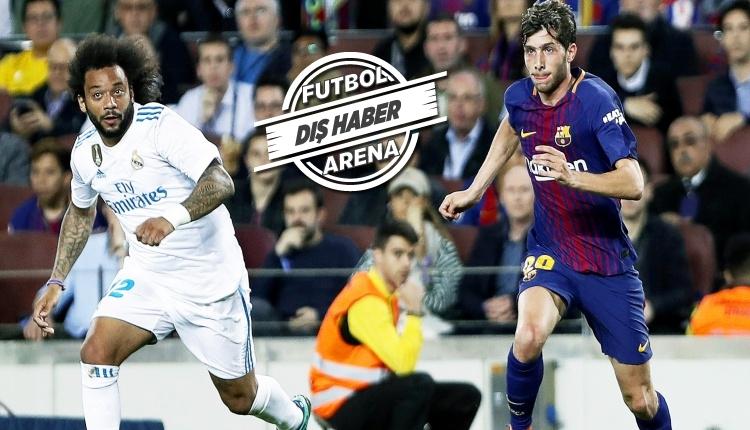 Barcelona'da Sergi Roberto'ya 4 maç ceza