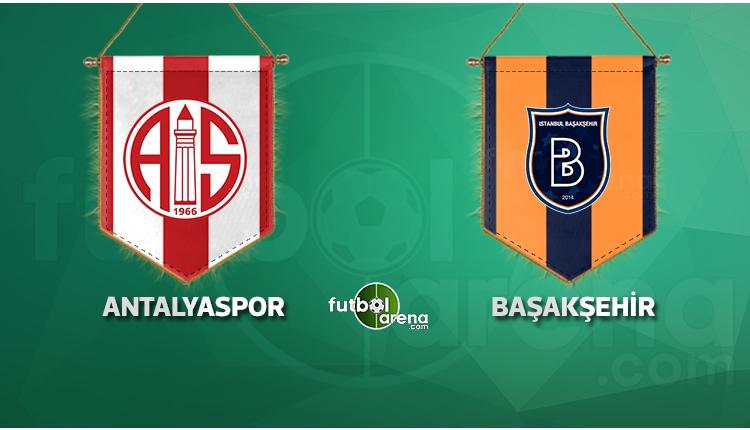 Başakşehir, Antalyaspor deplasmanında! Muhtemel 11'ler