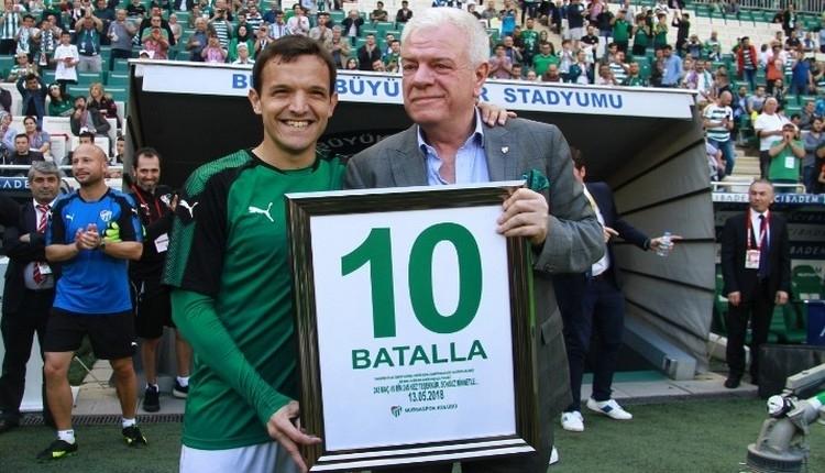 Batalla'dan Bursaspor'a veda sonrası duygusal açıklama