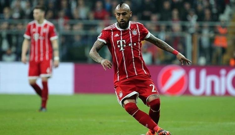 Bayern Münih'te Arturo Vidal, Premier Lig yolunda