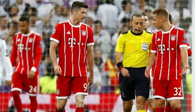 Cüneyt Çakır'a Bayern Münih'ten penaltı tepkisi!