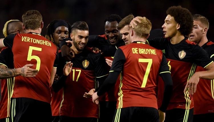 Belçika'nın Dünya Kupası kadrosu açıklandı