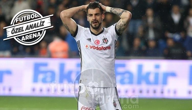 Beşiktaş istatistiklerde lider, ligde dördüncü!