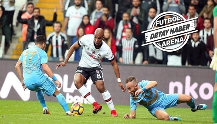 Beşiktaş ceza sahası dışından atıyor, Osmanlıspor yemiyor