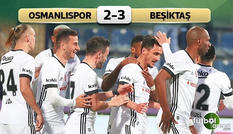 Beşiktaş'tan Ankara'da kritik galibiyet!