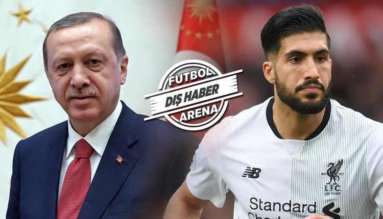 Bild'den olay iddia! 'Emre Can, Cumhurbaşkanı Erdoğan'ı reddetti'