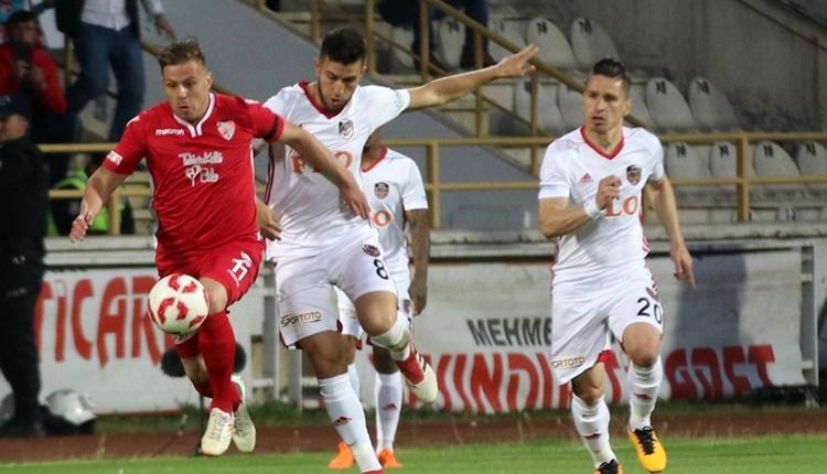 Boluspor 1 - 3 Gazişehir Gaziantep maçın özeti ve golleri (İZLE)