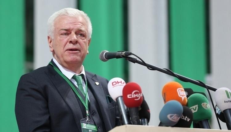 Bursaspor'da başkan yeniden Ali Ay