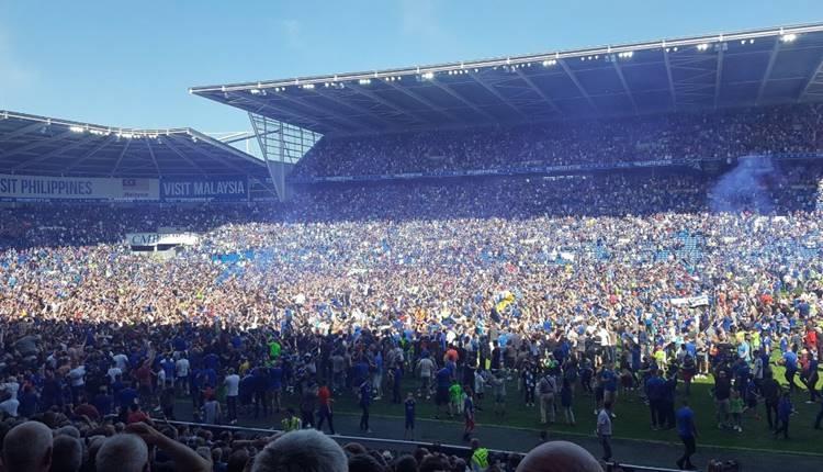 Cardiff City Premier Lig'de!
