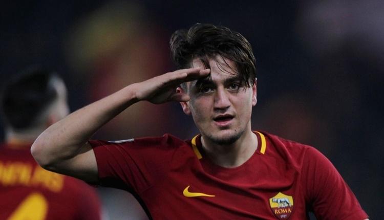 Cengiz Ünder: 'Totti'nin vedasını 10 kez izlemişimdir'