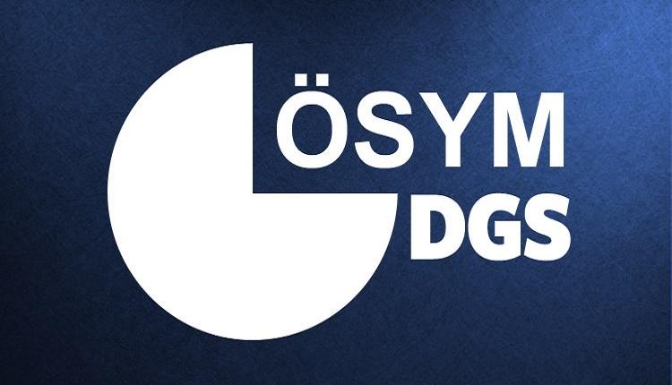 DGS başvuruları başladı (2018 DGS başvuru tarihi)