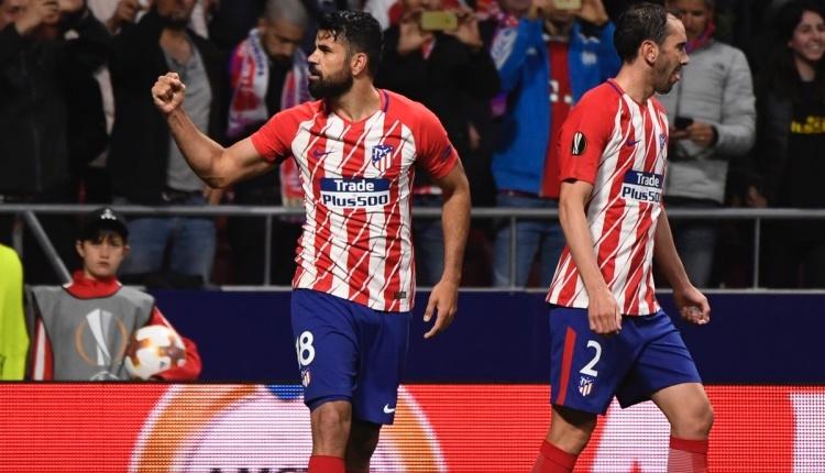 Diego Costa'nın Arsenal'e attığı gol (İZLE)