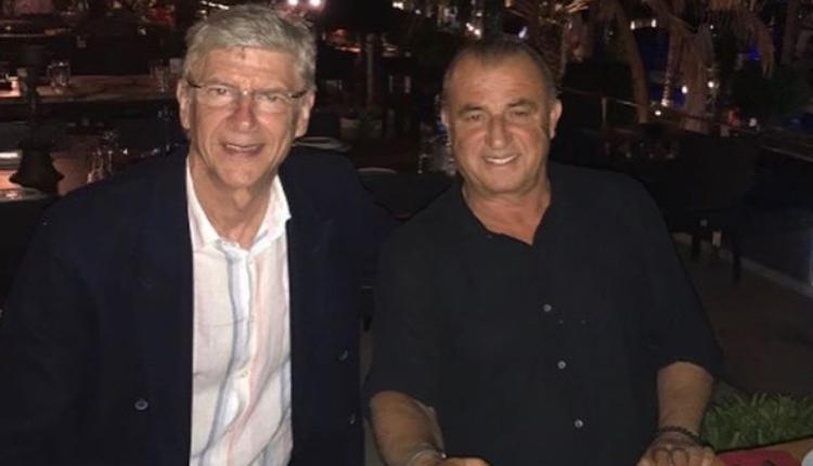 Fatih Terim, Arsene Wenger ile bir araya geldi