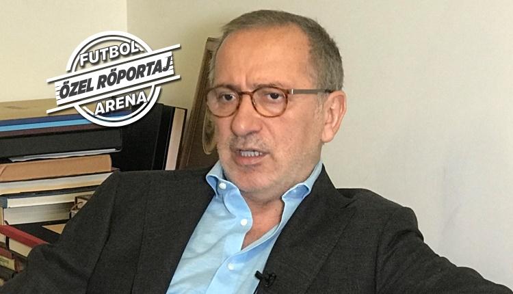 GS Haberi: Fatih Altaylı, FutbolArena'ya konuştu!