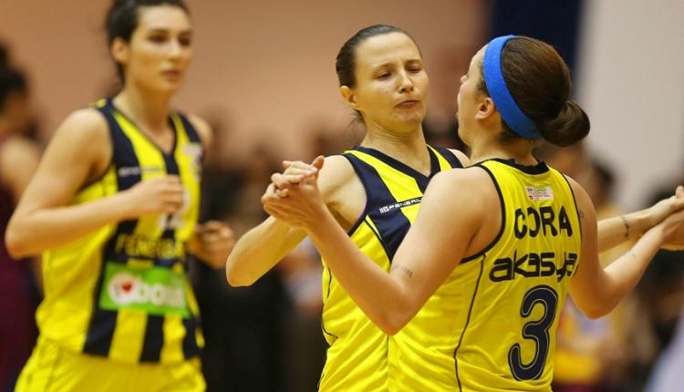 Fenerbahçe Kadınlar Basketbol Ligi'nde şampiyon