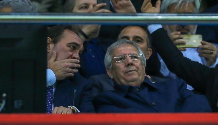 Fenerbahçe-Akhisarspor maçında Aziz Yıldırım totem yaptı
