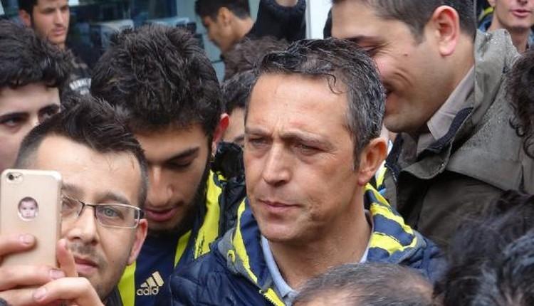 Fenerbahçe'de Ali Koç, Kadıköy'de