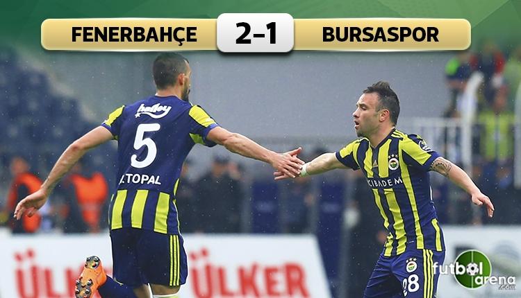 Fenerbahçe'den Kadıköy'de kritik galibiyet!