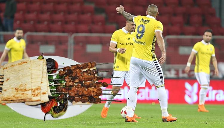 Fenerbahçeli futbolcular ciğer yedi mi?
