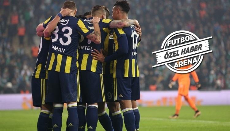 Fenerbahçe'nin, Akhisarspor maçı ilk 11'i