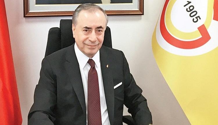 Galatasaray Başkanı Mustafa Cengiz: 'Hayatımda ilk kez yaptım'