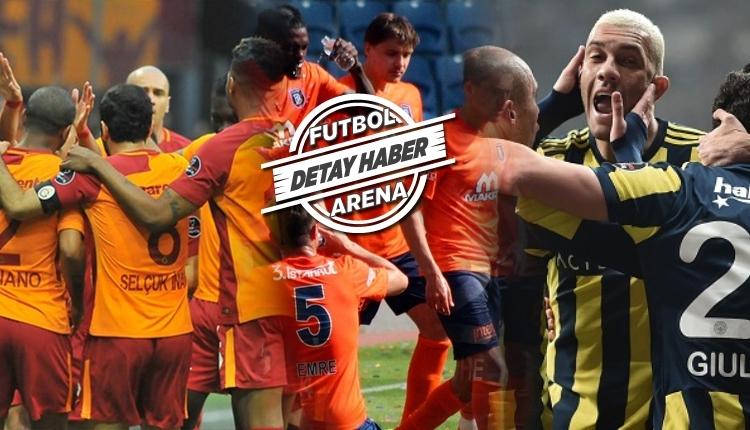 Galatasaray, Fenerbahçe, Başakşehir 2'li 3'lü averajda son durum (Süper Lig 2'li averaj ve Süper Lig 3'lü averaj nasıl?)