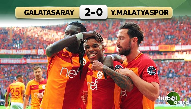 Galatasaray - Yeni Malatyaspor maçı özeti ve golleri