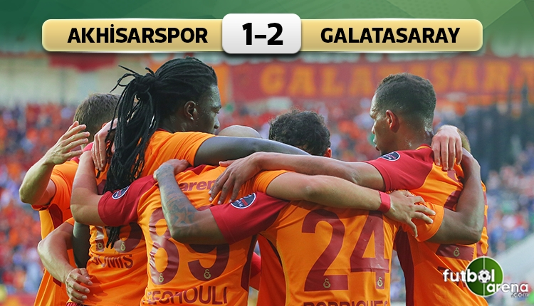 Akhisarspor 1 - 2 Galatasaray maçın özeti ve golleri (İZLE)