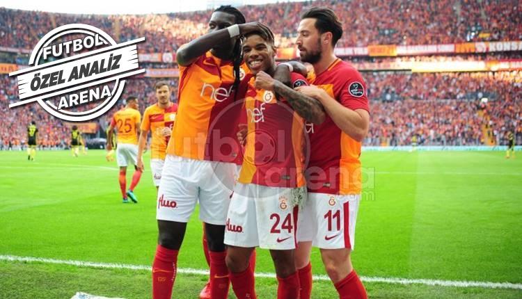 Galatasaray'da Garry Rodrigues fırtınası!