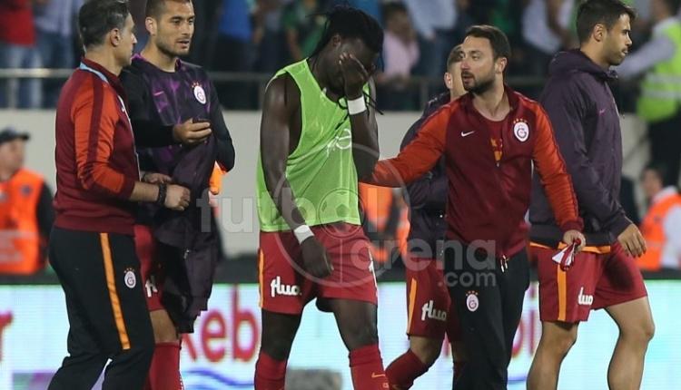 Galatasaray'da Gomis gözyaşlarına boğuldu