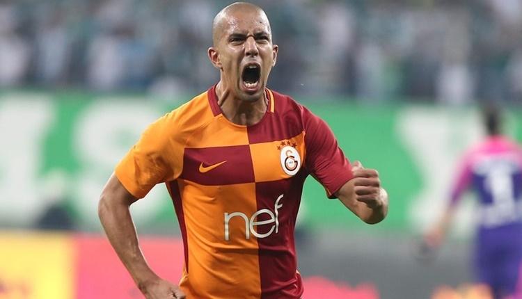 Galatasaray'da Sofiane Feghouli'ye Rennes talip iddiası