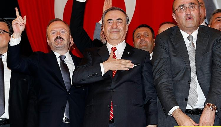 Galatasaray'ın 37 .başkanı Mustafa Cengiz oldu! İlk sözleri