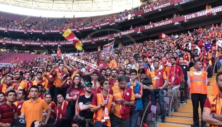 Galatasaray'ın şampiyonluk kutlamasında 'Fener Ağlama'