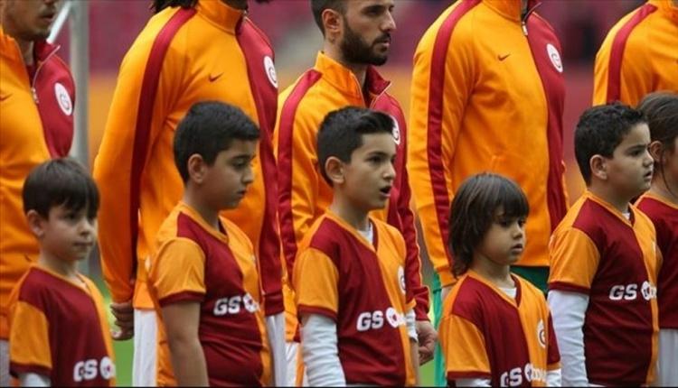 Galatasaray-Malatyaspor seremonisinde 60 çocuk