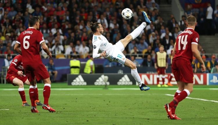 Gareth Bale'den Liverpool'a muhteşem rövaşata golü İZLE (Bale'in Liverpool'a attığı gol)