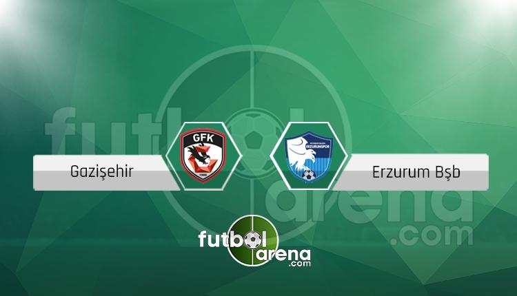 Gazişehir Gaziantep - Erzurumspor maçı hangi gün, saat kaçta, hangi kanalda?