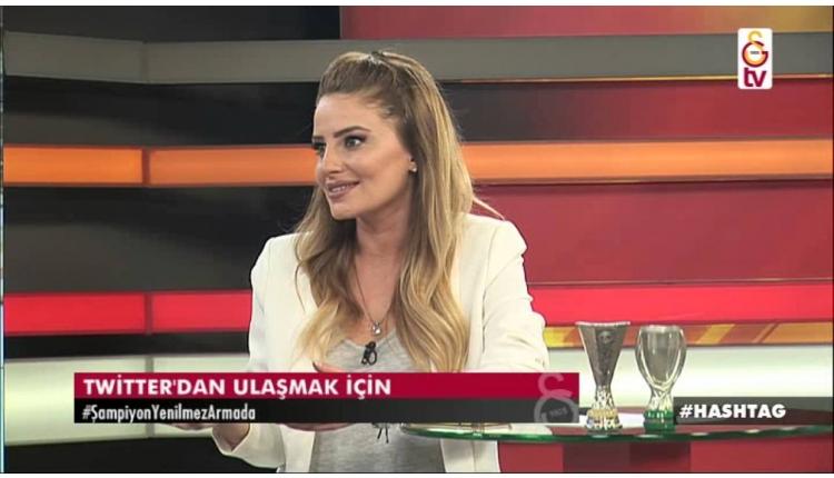 GS TV spikeri Melisa Çizmeci: