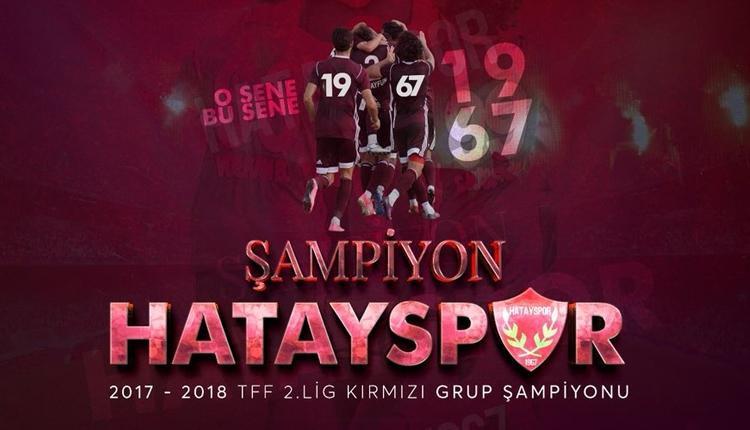 Hatayspor şampiyon! Hatayspor 1. ligde! (Hatayspor - Afjet Afyonspor maç özeti ve golleri)